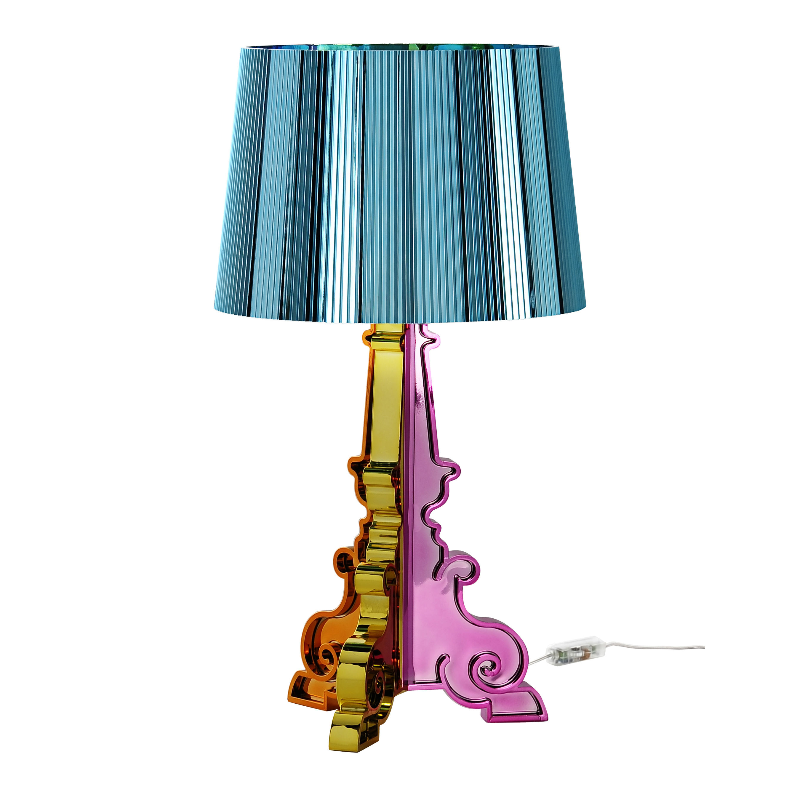 bourgie table lamp azure by kartell. Black Bedroom Furniture Sets. Home Design Ideas
