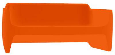 Canap translation l 168 cm orange qui est paul for Canape translation