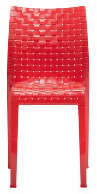 Foto Sedia impilabile Ami Ami di Kartell - Rosso lucido - Materiale plastico
