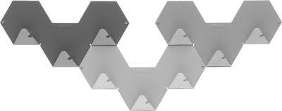 Foto Appendiabiti Simplex - confezione da3 di Tolix - Grigio - Metallo