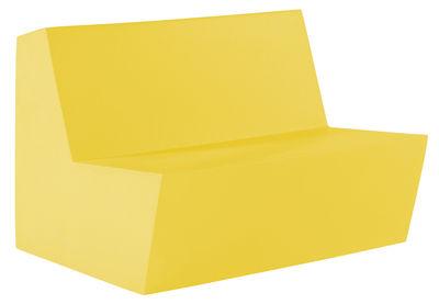 Foto Divano bimbi Minus Primary Duo - 2 posti di Quinze & Milan - Giallo - Materiale plastico