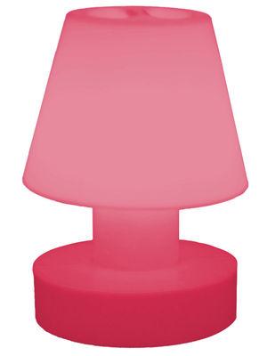 Foto Lampe sans fil - portatile senza fili ricaricabile - H 28 cm di Bloom! - Rosa - Materiale plastico