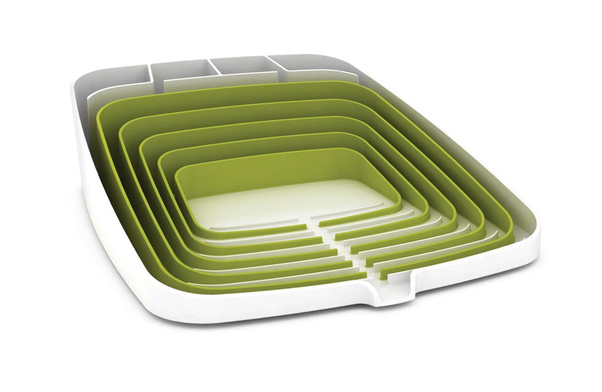 Arena Draining rack - Dish drainer Green & White by Joseph ...