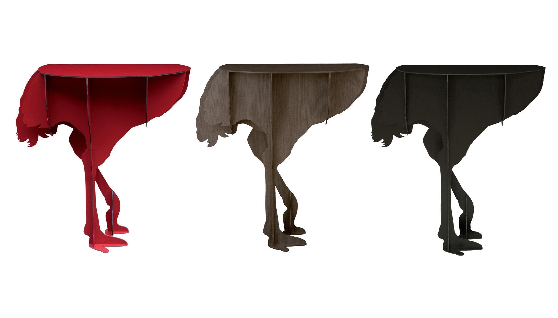 Console diva di ibride rosso lucido ebay for Console mobile