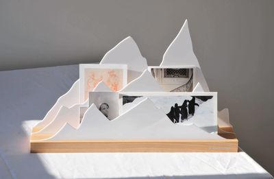organiseur de bureau alpes l 45 cm alpes blanc l 39 atelier d 39 exercices. Black Bedroom Furniture Sets. Home Design Ideas