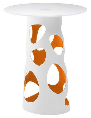 Foto Gamba da tavolo Liberty - H 105 cm di MyYour - Arancione - Materiale plastico
