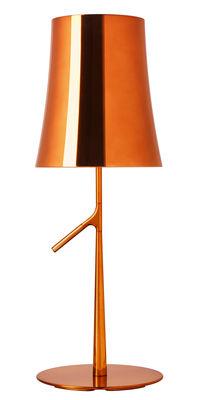 Foto Lampada da tavolo Birdie Grande Metal - / H 70 cm di Foscarini - Rame - Metallo