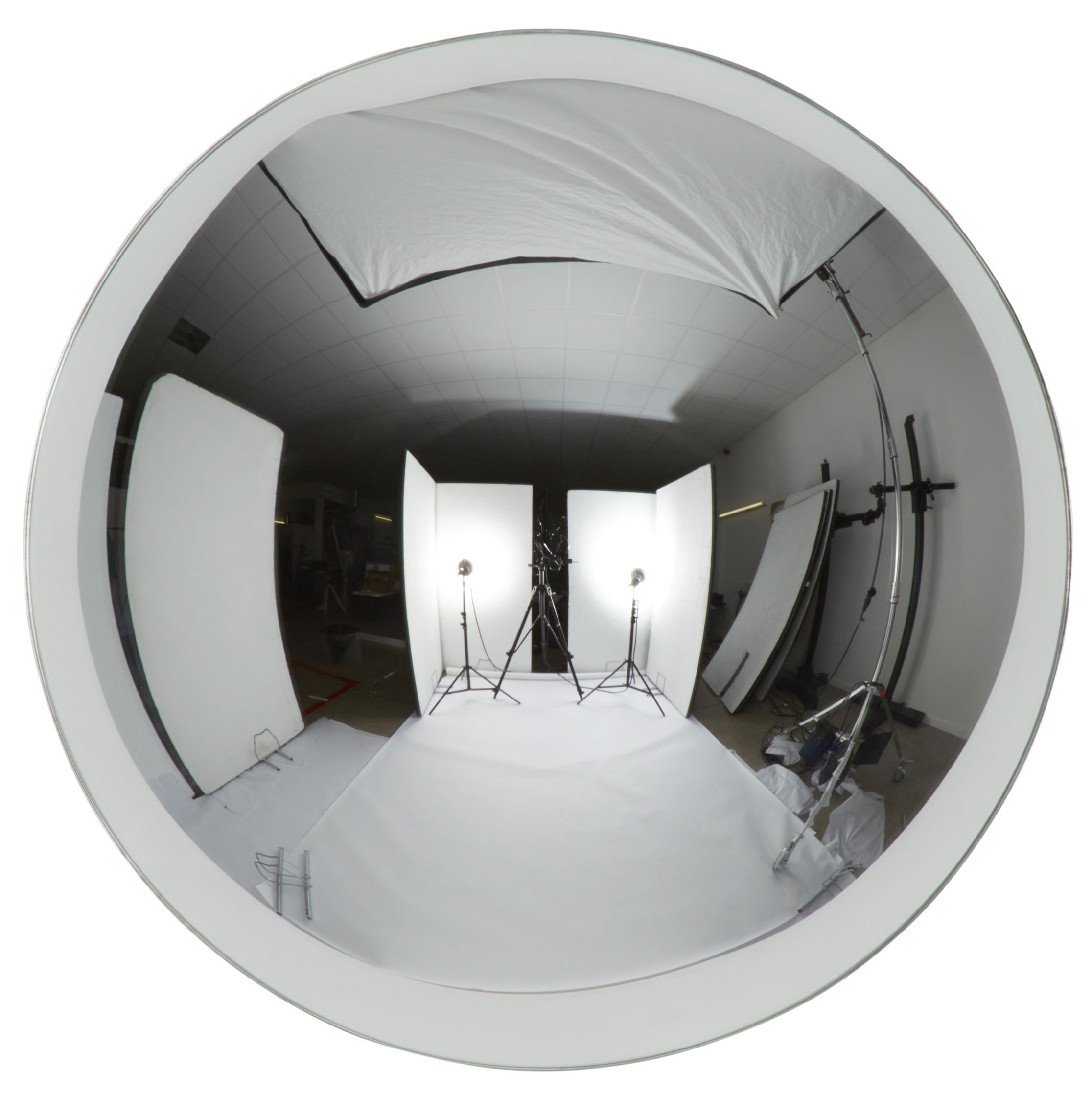 miroir dome convexe 40 cm chrom tom dixon. Black Bedroom Furniture Sets. Home Design Ideas
