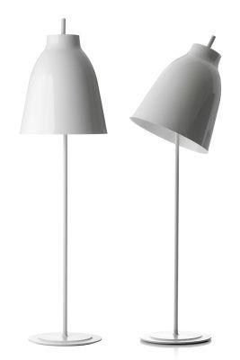 Foto Lampada a stelo Caravaggio di Lightyears - Bianco - Metallo