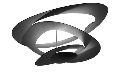 Foto Plafoniera Pirce Mini - LED / Ø 67 cm di Artemide - Nero - Metallo