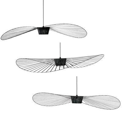 suspension vertigo large 200 cm noir petite friture. Black Bedroom Furniture Sets. Home Design Ideas