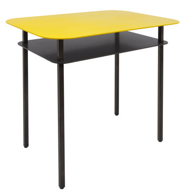 table d 39 appoint kara table de chevet 60 x 44 cm jaune maison sarah lavoine. Black Bedroom Furniture Sets. Home Design Ideas