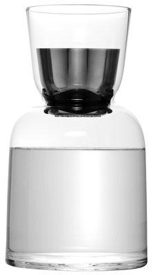 Foto Caraffa W/W - con aeratore da vino di Menu - Acciaio,Trasparente - Vetro