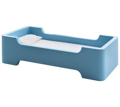 Foto Letto bimbi Bunky - /Modulo da una piazza di Magis Collection Me Too - Azzurro - Materiale plastico