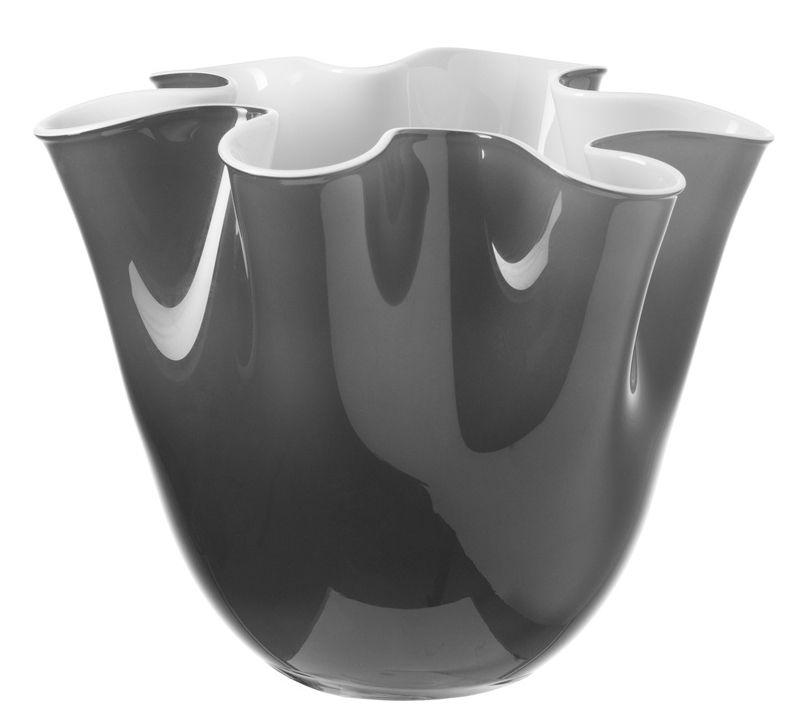 lia vase grey white by leonardo. Black Bedroom Furniture Sets. Home Design Ideas