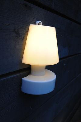 applique portable sans fil rechargeable h 28 cm blanc. Black Bedroom Furniture Sets. Home Design Ideas