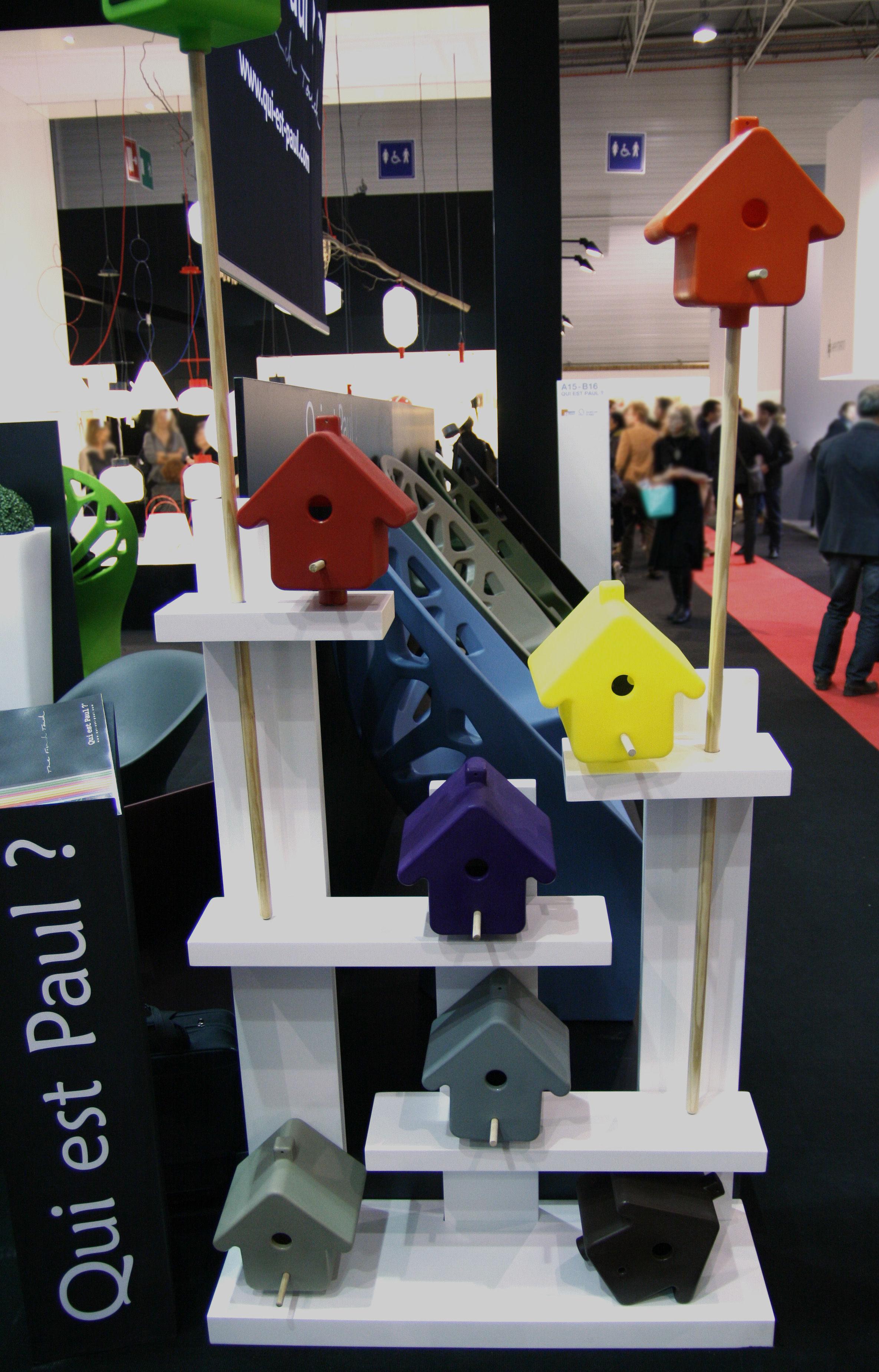 picto nichoir to hang beige by qui est paul. Black Bedroom Furniture Sets. Home Design Ideas