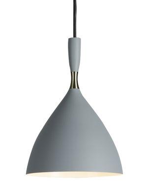 Foto Sospensione Dokka riedizione 1954 - Northern Lighting - Bianco,Grigio chiaro - Metallo