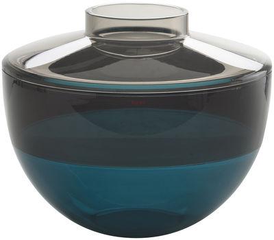 Shibuya vase grey smoked blue by kartell for Decoration kartell