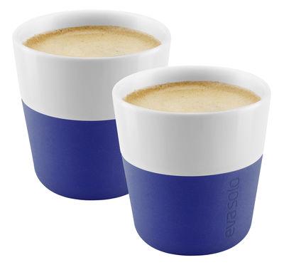 Image du produit Tasse à espresso / Set de 2 - 80 ml - Eva Solo Bleu électrique en Céramique