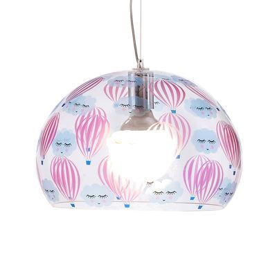 Fl y kids pendant small 38 cm transparent for Decoration kartell