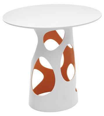 Foto Piano del tavolo Liberty - Ø 90cm di MyYour - Bianco - Legno