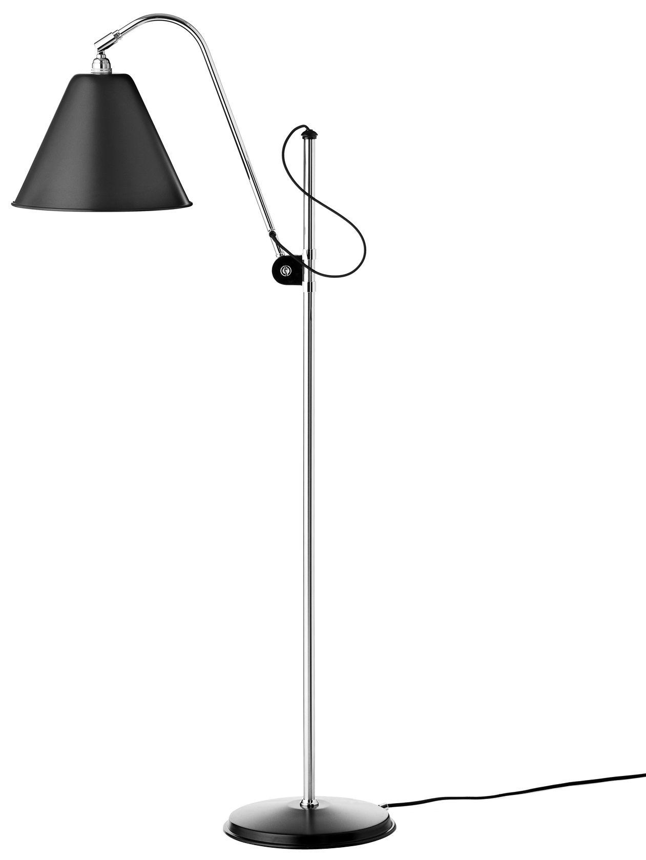 lampadaire bestlite bl3 original r dition de 1930 noir. Black Bedroom Furniture Sets. Home Design Ideas