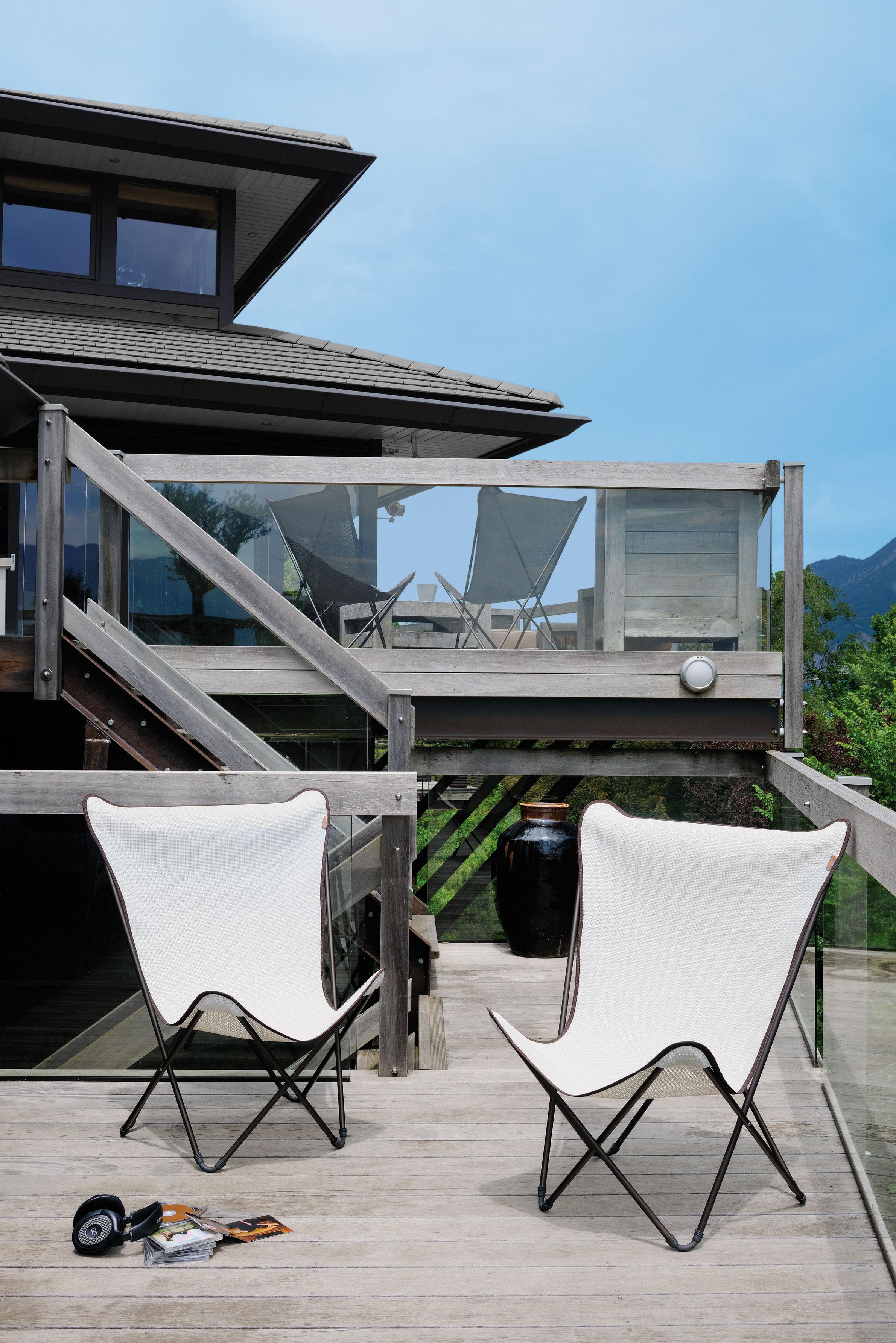 Maxi pop up armchair folding moka brown structure by lafuma - Fauteuil pop up lafuma ...
