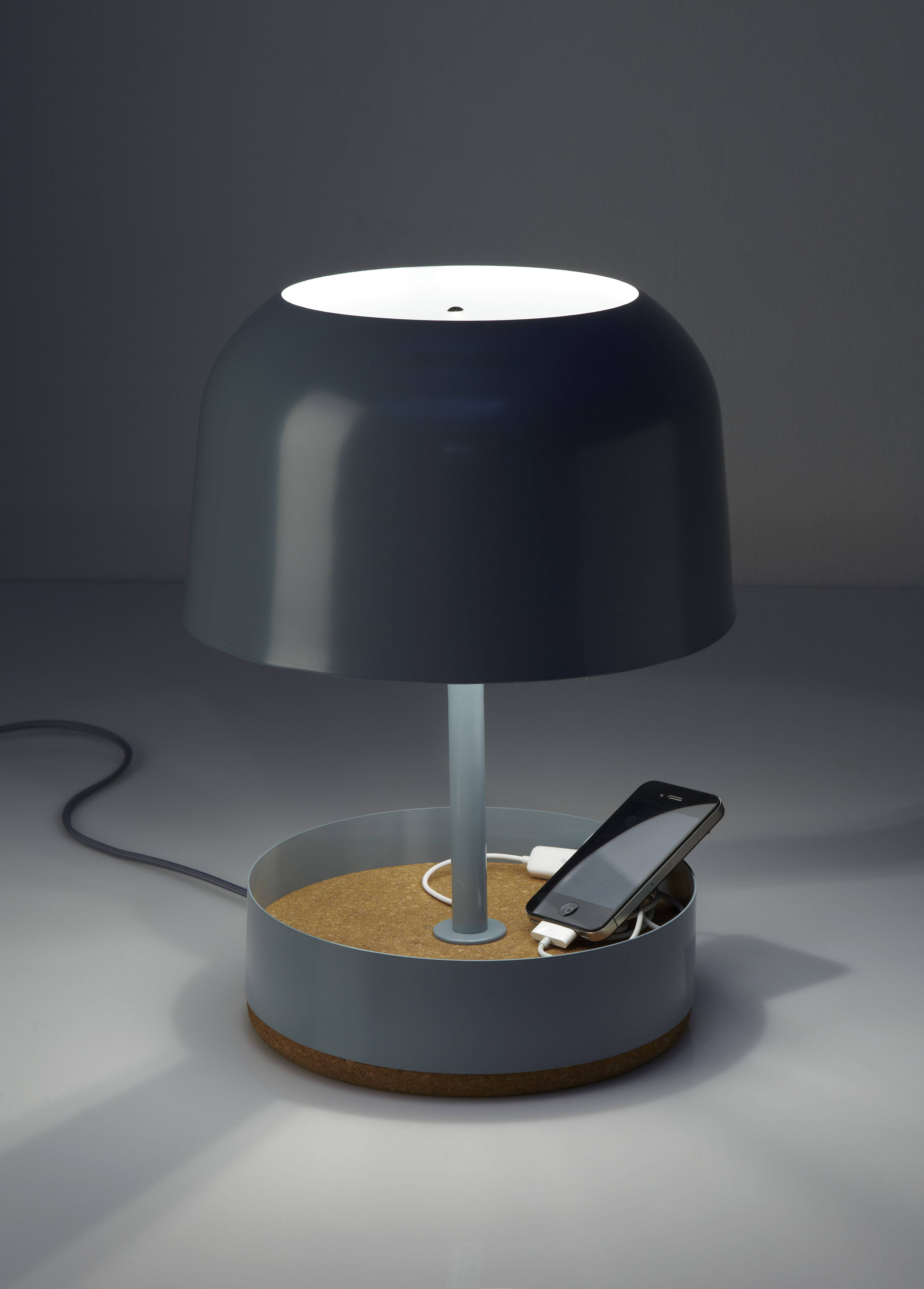 lighting table lamps hodge podge usb table lamp with usb port. Black Bedroom Furniture Sets. Home Design Ideas
