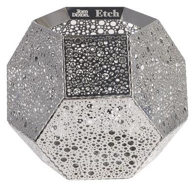 Foto Portacandela Etch di Tom Dixon - Acciaio - Metallo
