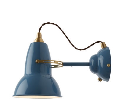 applique original 1227 laiton bleu anglepoise. Black Bedroom Furniture Sets. Home Design Ideas