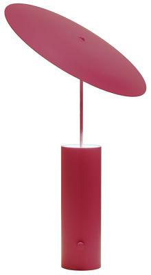 Foto Lampada da tavolo Parasol / LED - H 50 cm - Innermost - Rosso - Metallo