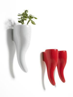 pot de fleurs good luck vase accrocher au mur rouge. Black Bedroom Furniture Sets. Home Design Ideas