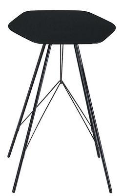 Foto Tavolino d'appoggio Emil di Zanotta - Nero - Metallo