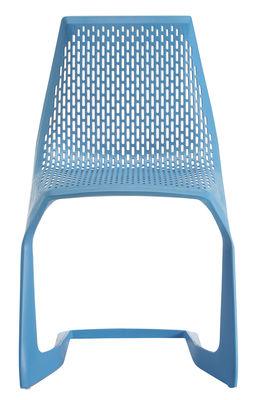 Foto Sedia impilabile Myto di Plank - Blu - Materiale plastico