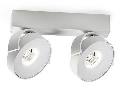 applique rand reo led plafonnier 2 spots blanc delta light. Black Bedroom Furniture Sets. Home Design Ideas
