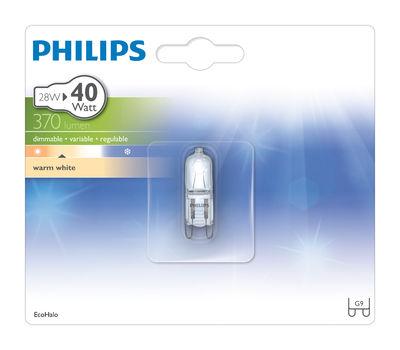 ampoule eco halog ne g9 ecohalo capsule 28w 40w 370. Black Bedroom Furniture Sets. Home Design Ideas
