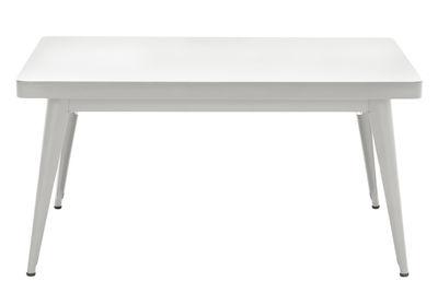 table basse 55 90 x 55 cm le corbusier gris clair 31 tolix. Black Bedroom Furniture Sets. Home Design Ideas