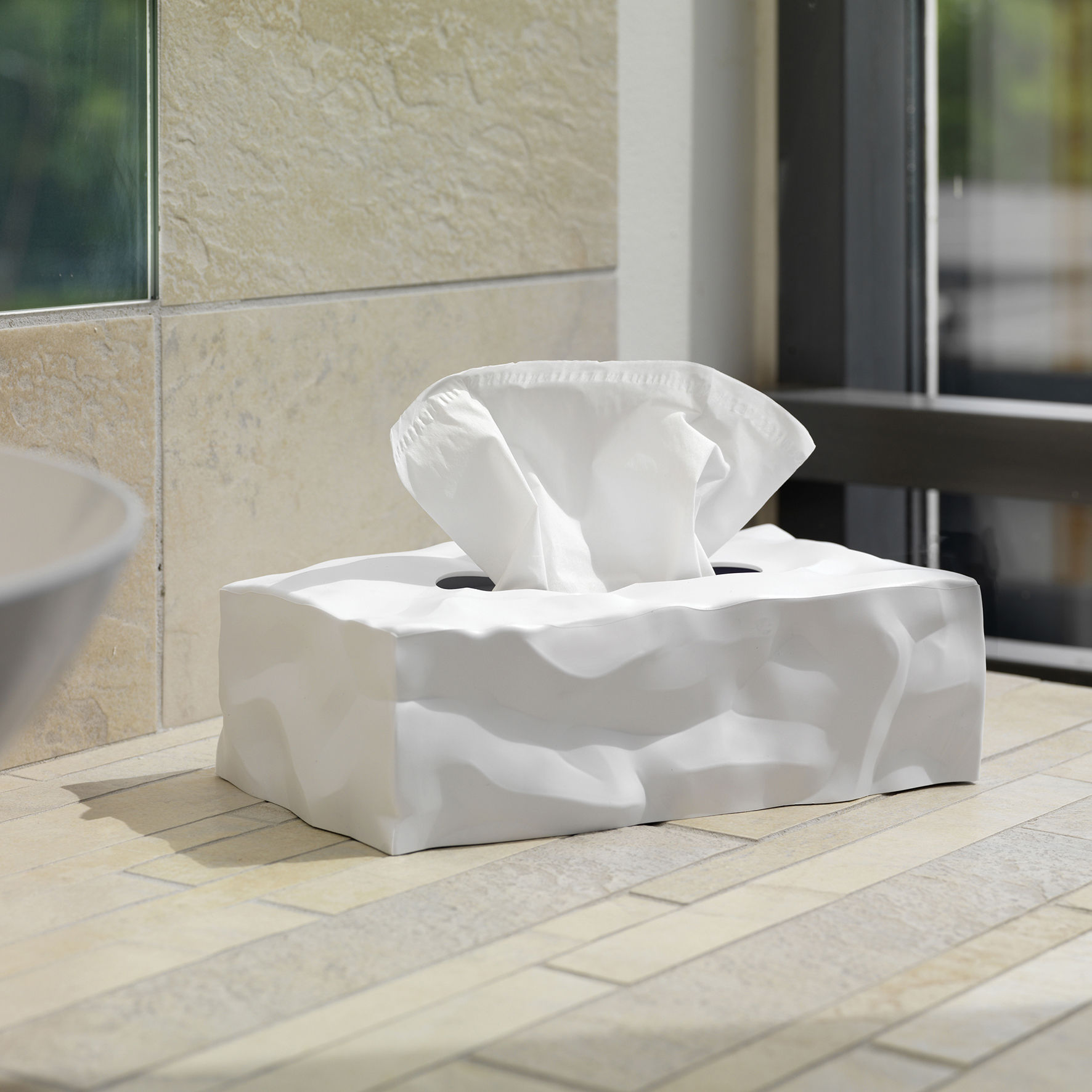 Home > Accessories > Bathroom accessories > Wipy Tissue box by Essey