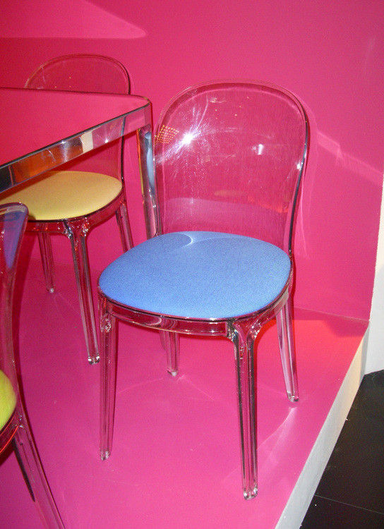 Vanity Chair Padded chair Transparent polycarbonate