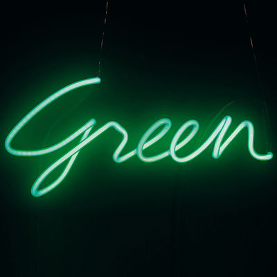 Neon Shades Green Wall light Green by Seletti