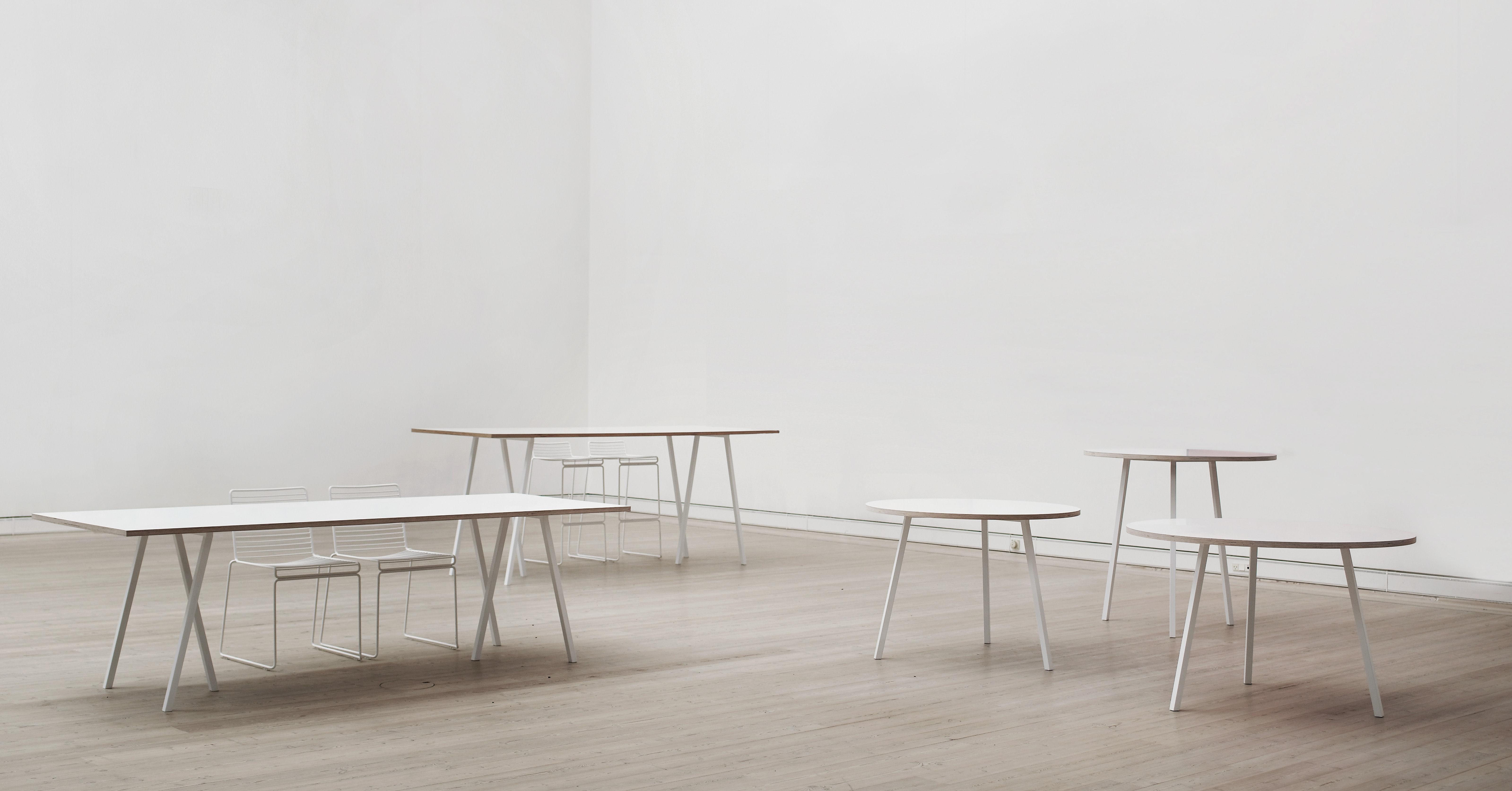 loop tisch b 200 cm hay wei ebay. Black Bedroom Furniture Sets. Home Design Ideas