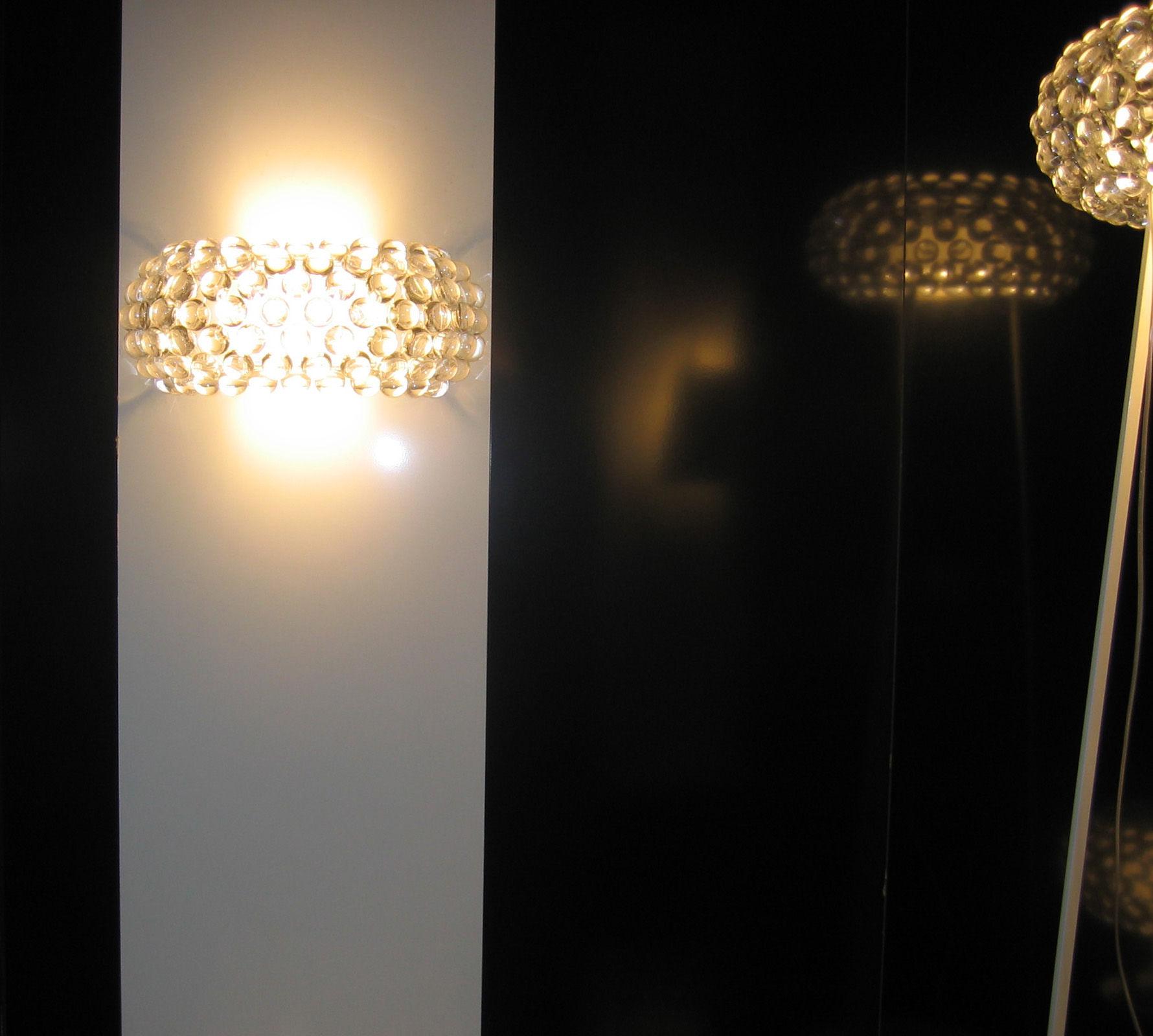 caboche media floor lamp media clear white by foscarini. Black Bedroom Furniture Sets. Home Design Ideas