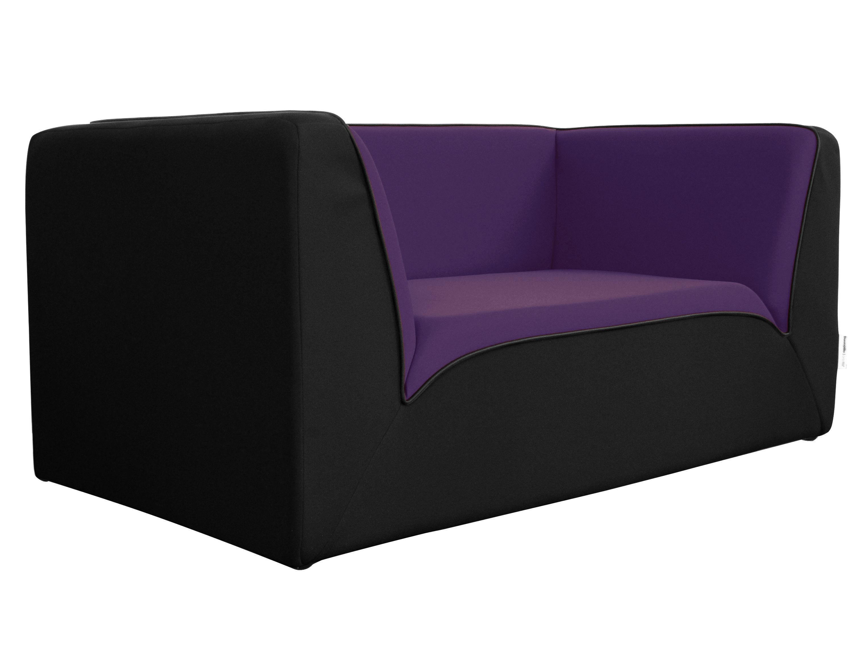 Canap droit e motion by ora ito 2 places l 160 cm noir violet passep - Canape dunlopillo ora ito ...