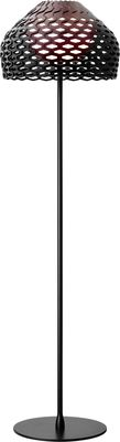 Foto Lampada a stelo Tatou F - H 180 cm di Flos - Nero - Materiale plastico
