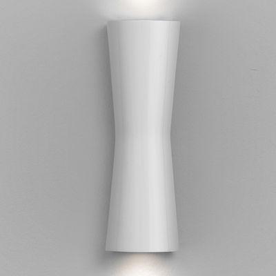 Foto Applique Clessidra 40° - LED - Per l'interno di Flos - Bianco brillante - Metallo