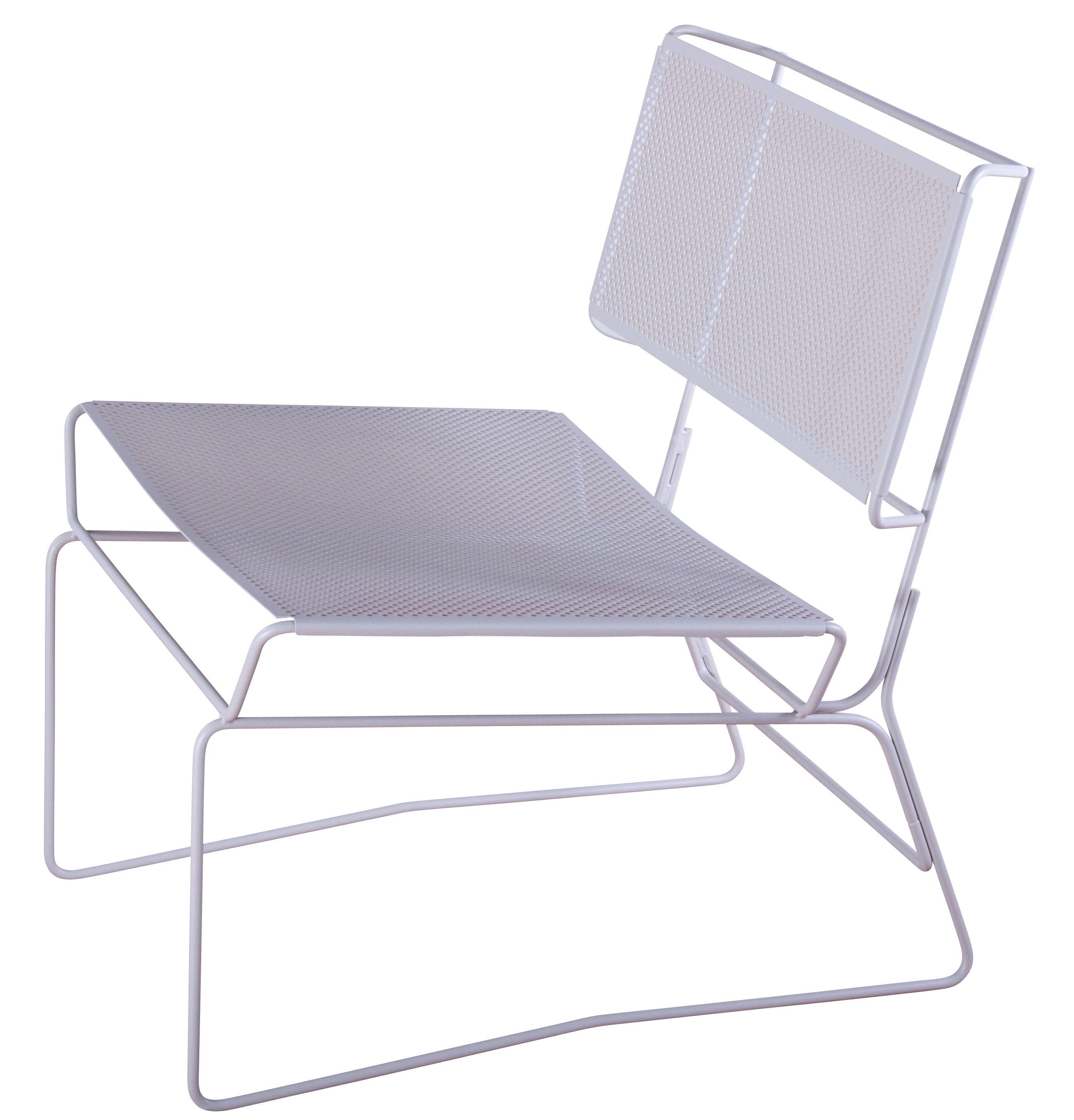 fauteuil bas fil gris aa new design. Black Bedroom Furniture Sets. Home Design Ideas