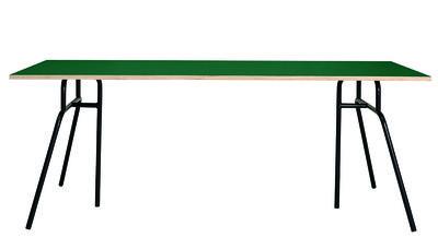 Foto Piano del tavolo Apart / 120 x 58 cm - House Doctor - Verde - Legno