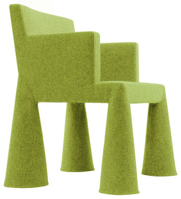 Moooi V.I.P. Chair Desk chair. Aniseed green