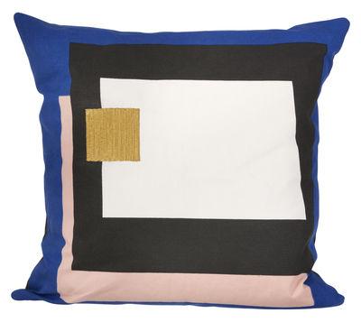 Foto Cuscino Coussin Fragment - / 50 x 50 cm di Ferm Living - Multicolore - Tessuto